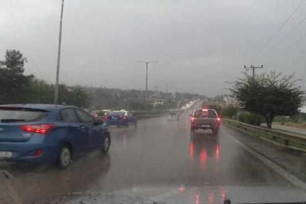 Ισχυρή βροχόπτωση και χαλάζι «εξαφάνισαν» το Κιλκίς! (Video)