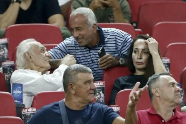 Στο «Γ. Καραϊσκάκης» το ζεύγος Τσοχατζόπουλου για να δει τον Ολυμπιακό!