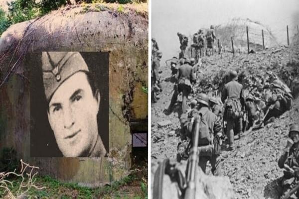 Δημήτρης Ίτσιος: Η θυσία του λοχία που εξολόθρευσε 250 Γερμανούς στρατιώτες με μόνο 5 άνδρες!