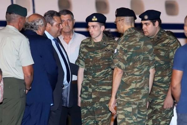 Στρατοδικείο ζητά για τους δύο Έλληνες στρατιωτικούς η Χρυσή Αυγή!