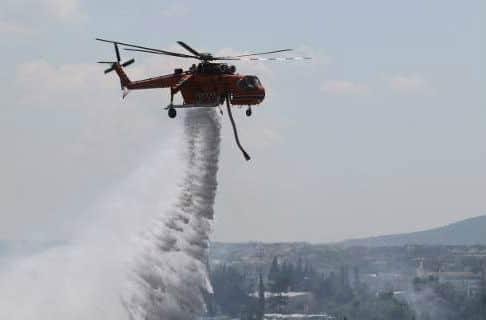 Ζάκυνθος: Πυρκαγιά σε δασική έκταση!