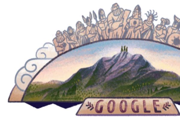 Google: Αφιερωμένο στον Όλυμπο το σημερινό της doodle!