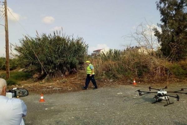 Κρήτη: Αυτό θα πει πρωτοτυπία! - Κάνουν αεροψεκασμό για τα κουνούπια με drone! (Photo)