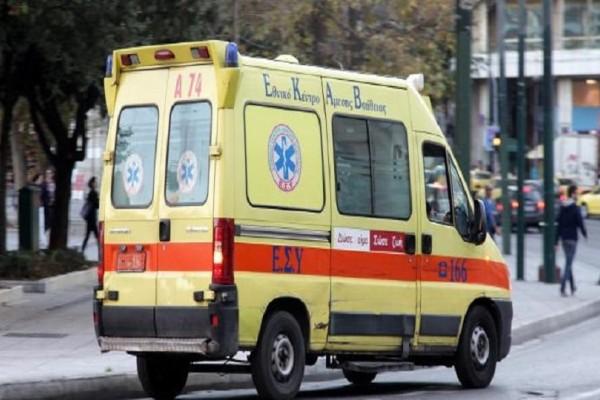Σοκ στην Θεσσαλονίκη: Άνδρας έπεσε από την ταράτσα τριώροφης οικοδομής