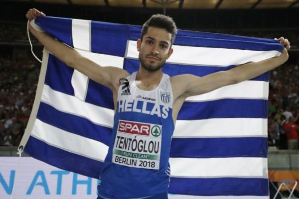 «Χρυσό» άλμα: Πρωταθλητής Ευρώπης ο Μίλτος Τεντόγλου στο μήκος (Photo)