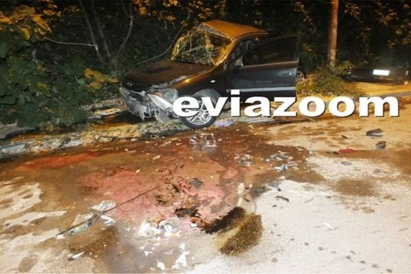 Τραγωδία στη Χαλκίδα: Φονική σύγκρουση οχημάτων με δύο νεκρούς! (Photo)