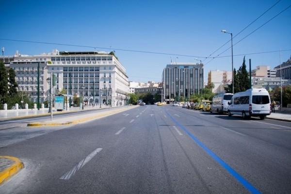 Ερήμωσε η Αθήνα! Άδειοι οι δρόμοι ανήμερα της Παναγίας (photos)
