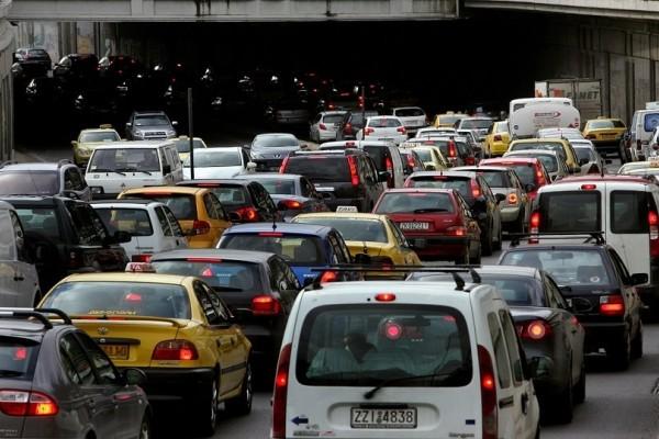 Κλειστή η Εθνική οδός Αθηνών-Λαμίας! Ουρές χιλιομέτρων