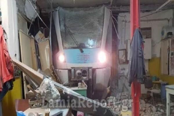 Παρ' ολίγον τραγωδία στη Λαμία: Τρένο εκτροχιάστηκε επειδή ήταν αλλαγμένες οι ράγες!