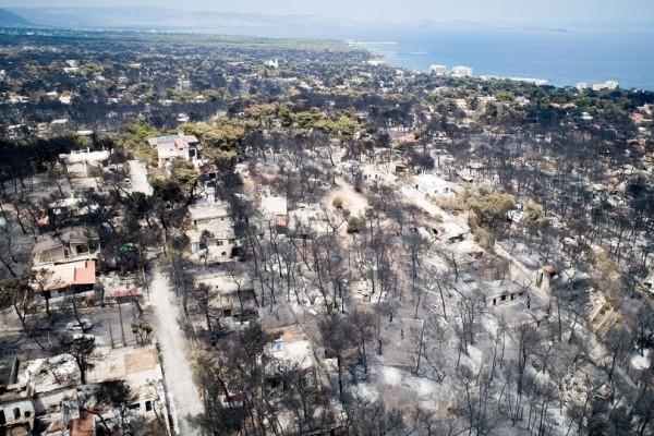 Μάτι: Κάηκε το 70% του οικισμού (photo)