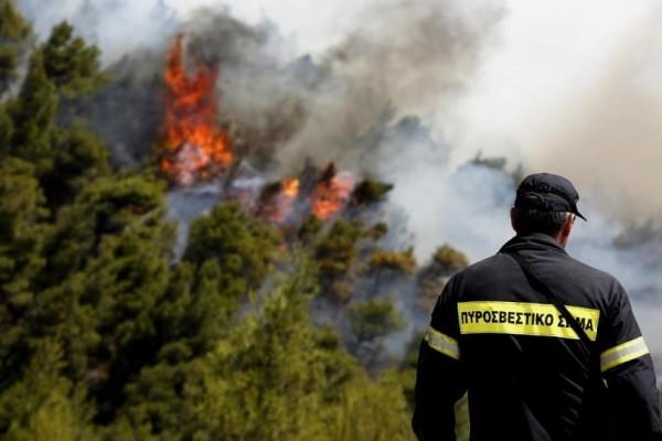 Προσοχή: Πολύ υψηλός κίνδυνος πυρκαγιάς και σήμερα, Κυριακή!