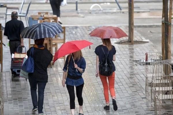Βροχές και καταιγίδες προβλέπονται για σήμερα, Πέμπτη! - Πού θα κυμανθεί η θερμοκρασία;