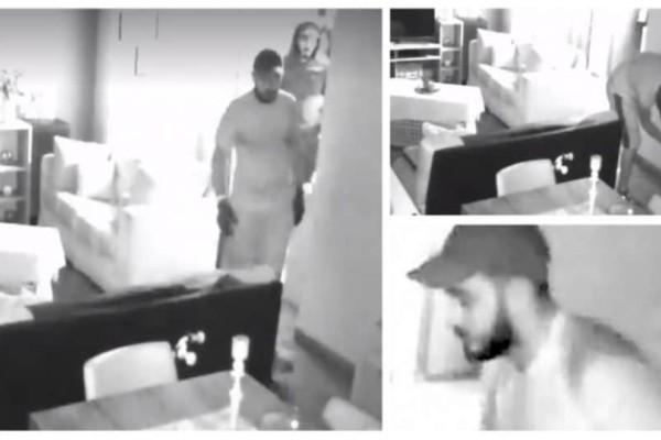 Καρέ - καρέ: Η εισβολή διαρρηκτών σε σπίτι στον Άλιμο! Έκλεψαν 3.000 ευρώ και κοσμήματα! (video)
