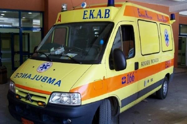 Τραυματισμός σοκ στο Δομοκό: 23χρονος έπεσε από 12 μέτρα ύψος!