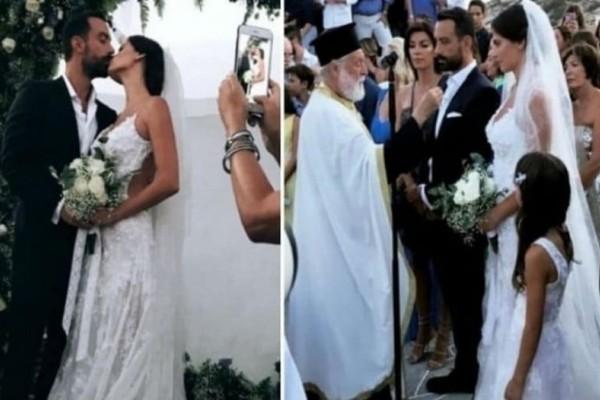 Σάλος στον γάμο Τανιμανίδη - Μπόμπα: Ποιους έπιασε στα