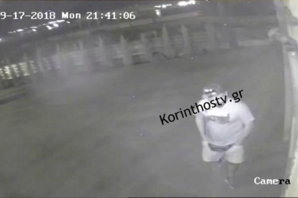 Κόρινθος: Η στιγμή που οι κλέφτες ξαφρίζουν ταξιδιωτικό γραφείο (video)
