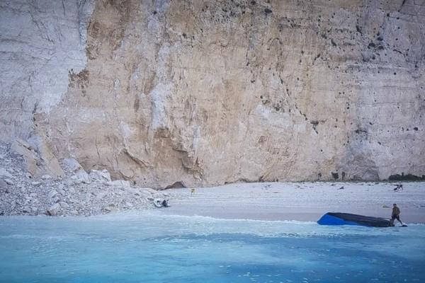 Συναγερμός στο Ιόνιο μετά την κατολίσθηση στο Ναυάγιο! - Ποιες παραλίες είναι επικίνδυνες;