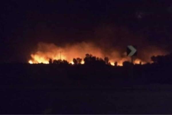 Ολονύχτια μάχη με τις φλόγες έδωσαν οι πυροσβέστες! Πυρκαγιές σε Μαραθώνα, Αχαΐα και Αρκαδία