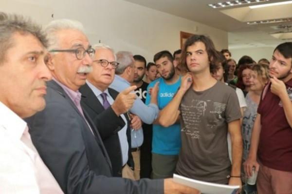 Κρήτη: H συνάντηση του Γαβρόγλου με τους φοιτητές του Πανεπιστημίου! (photos)