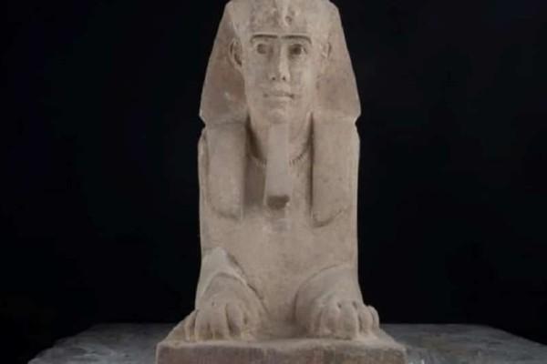 Σπουδαία ανακάλυψη: Βρέθηκε σφίγγα σε ναό της Αιγύπτου!