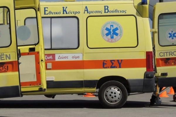Στυλίδα: Σοβαρός τραυματισμός εργάτη με αλυσοπρίονο!