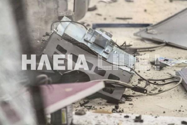 H σπείρα των ΑΤΜ «ξαναχτύπησε»! - Ανατίναξαν μηχάνημα στον Πύργο! (Photo & Video)