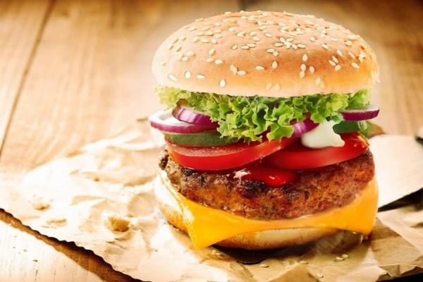Υγιεινό burger για παιδιά!