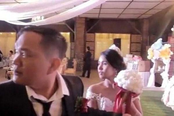 Βίντεο σοκ: Η στιγμή που ο υπερτυφώνας Μανγκούτ «χτυπάει» γάμο στις Φιλιππίνες!