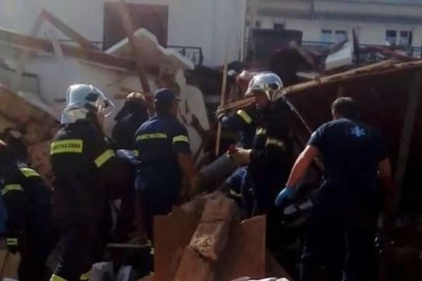 Ιωάννινα: Φιάλη υγραερίου προκάλεσε την κατάρρευση του σπιτιού!