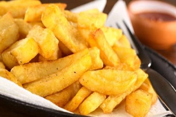 Οι πιο τραγανές τηγανητές πατάτες! (Video)