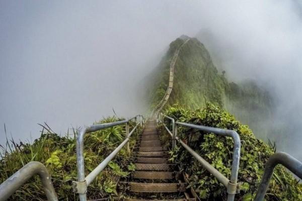 Ένα εντυπωσιακό θέαμα: Stairway to Heaven ή σκάλα προς τον Παράδεισο!