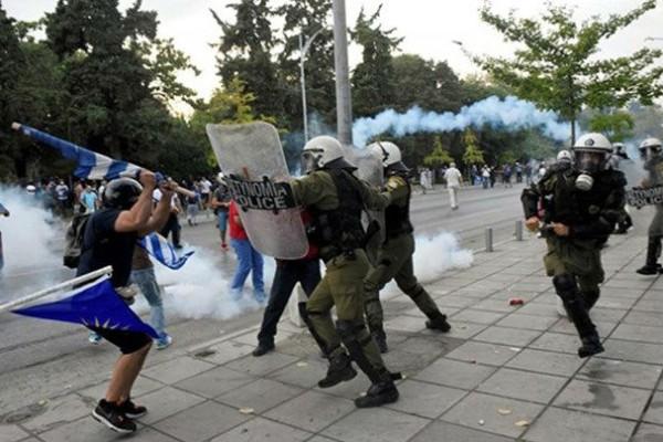 Θεσσαλονίκη: Όσα λέει το ΕΚΑΒ για τα επεισόδια!