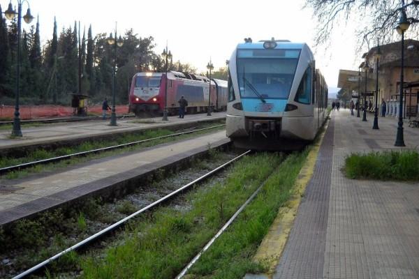 Λαμία: Ταλαιπωρία για επιβάτες τρένου! Τι συνέβη; (photo)