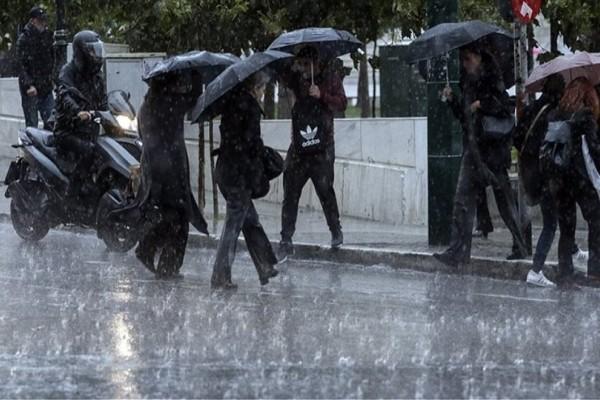 Βροχές και καταιγίδες προβλέπονται για σήμερα, Σάββατο! - Πού θα κυμανθεί η θερμοκρασία;