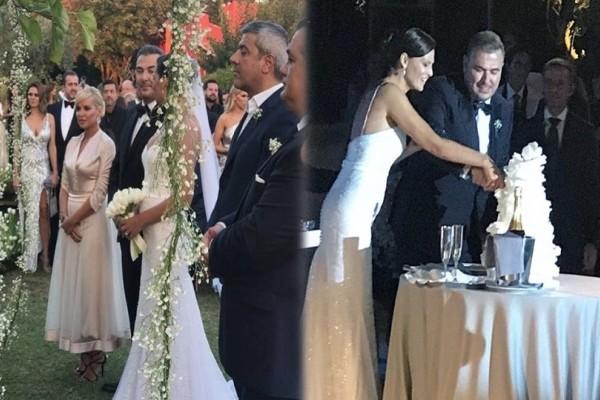 Γάμος Ρέμου - Μπόσνιακ: Όλες οι φωτογραφίες και τα βίντεο από το μυστήριο και το γλέντι!