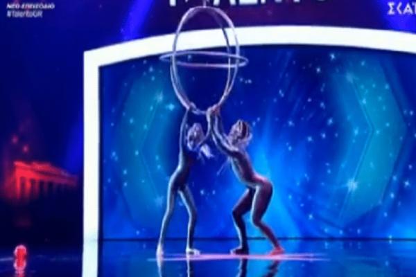 Ελλάδα έχεις ταλέντο: Τους τρέλαναν με τον με τον χορό και τα ακροβατικά τους (video)