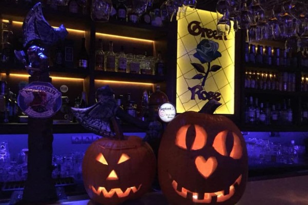 Halloween Party at Green Rose Beer-Restaurant