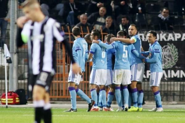 Europa League: Ισχυρή σφαλιάρα για ΠΑΟΚ!