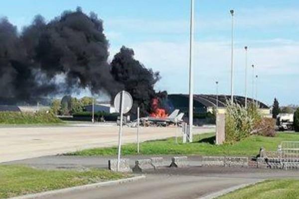 Συναγερμός στο Βέλγιο: Εξερράγη F16! Δύο τραυματίες