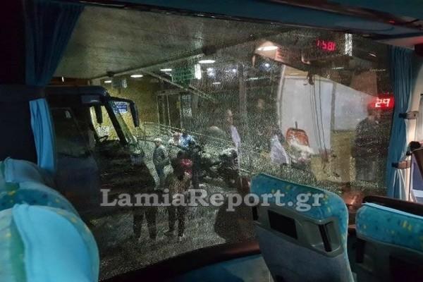 Απίστευτο περιστατικό στα Ιωάννινα: Πέταξαν πέτρες σε λεωφορείο του ΚΤΕΛ!