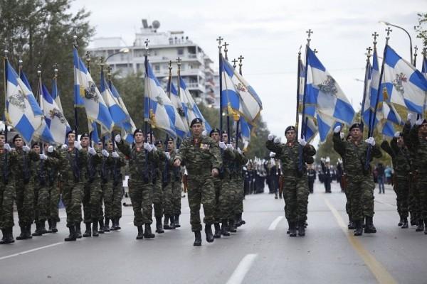 Θεσσαλονίκη: Παρουσία Παυλόπουλου και Ματαρέλα η μεγάλη στρατιωτική παρέλαση! (video)
