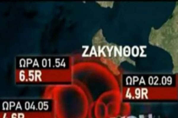 Σεισμός στη Ζάκυνθο: Σοκάρουν οι μαρτυρίες των κατοίκων! (video)