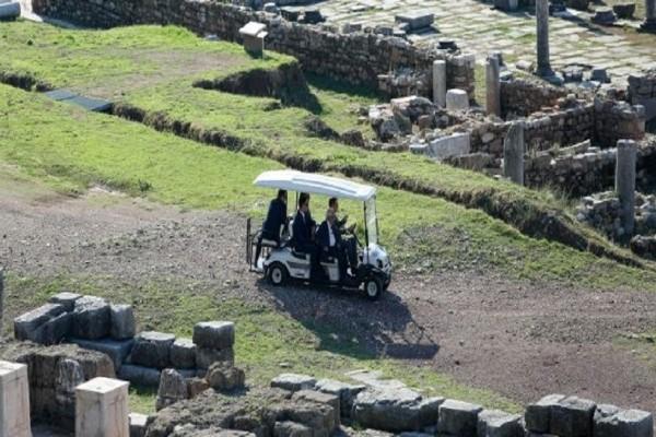 Στην αρχαία Μεσσήνη ο Σταϊνμάγιερ! (Photo)