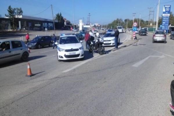 Αγρίνιο: Σφοδρή σύγκρουση μοτοσικλέτας με λεωφορείο