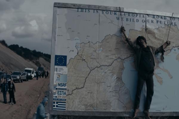 Μια ταινία που θα προκαλέσει θύελλα αντιδράσεων! - Σκοπιανός «σταυρωμένος» στον χάρτη της Ελλάδας! (Video)