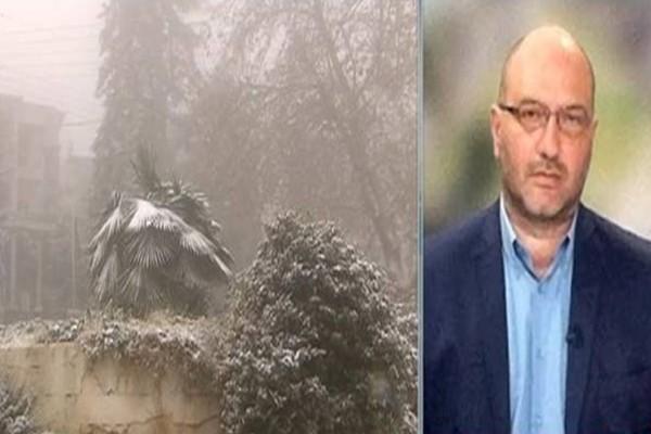 Ο Σάκης Αρναούτογλου φέρνει... χιόνια:
