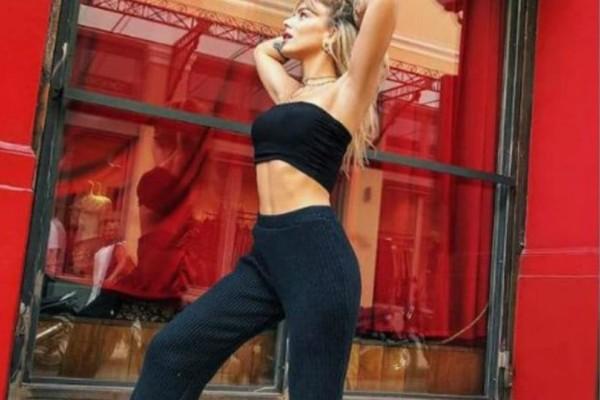 Josephine: Η γυμναστική που ακολουθεί και έχει αυτό το κορμί!