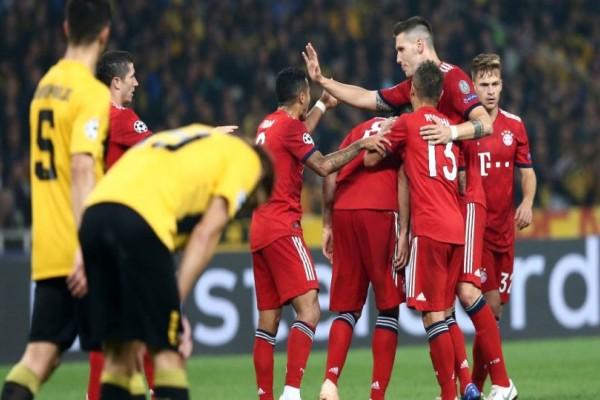 Champions League: Κοίταξε στα μάτια την Μπάγερν η ΑΕΚ αλλά...