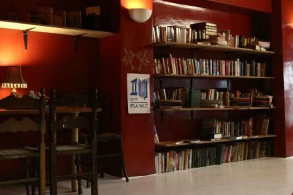 Το μπαρ που έγινε... βιβλιοθήκη! Καφές και διάβασμα δωρεάν