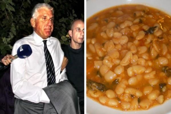 Από τα σούσι στην... φασολάδα: Αυτό ήταν το πρώτο γεύμα του Γιάννου Παπαντωνίου στην φυλακή!